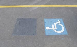 [handicappati in direzione corrretta]