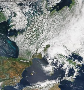 mappa satellitare