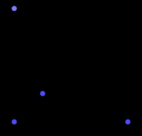 [un triangolo diviso in tre]